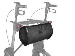 Rear bag with zipper